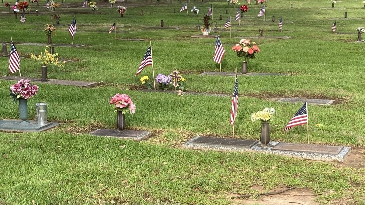 East Texas Boy Scouts on Saturday continued their annual tradition of planting flags at the...