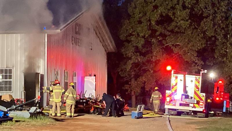 Officials respond to second fire at Coker Enterprises in two weeks
