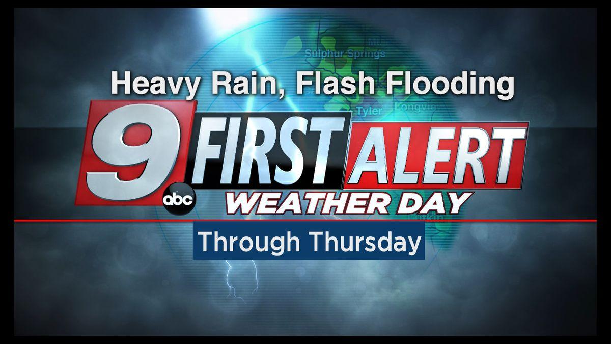 First Alert Weather Days