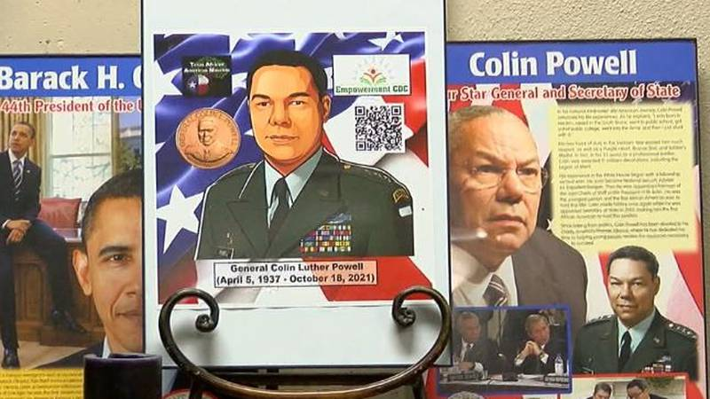Gen. Colin Powell, who died Monday at age 84, will be honored with a new permanent display at...