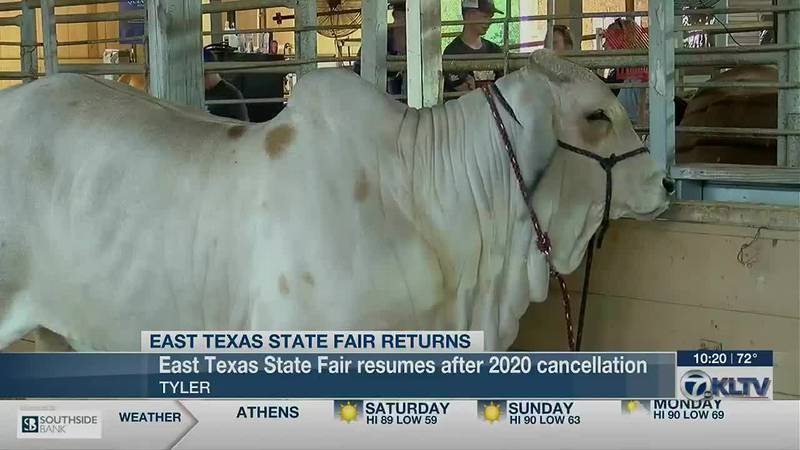 Future Farmers of America excited to compete again at East Texas State Fair