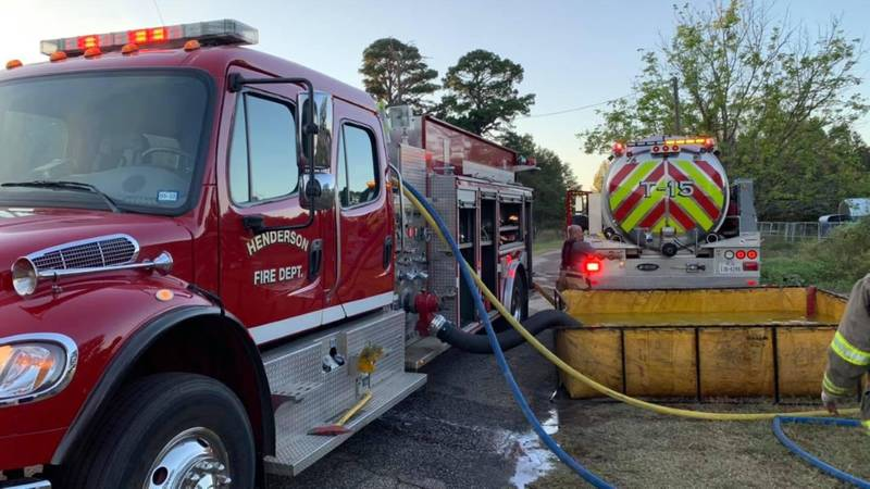 At least two people are displaced after the fire.