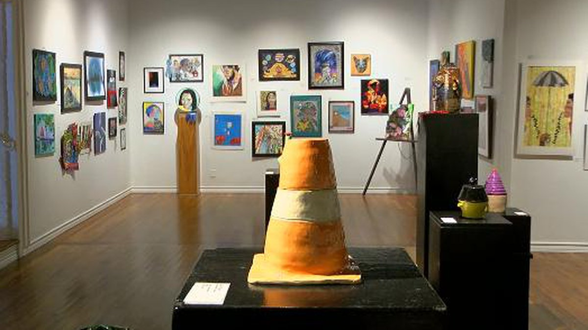 Works of art from hundreds of East Texas students are on display in Longview this month. The...