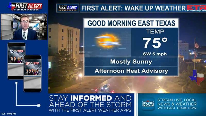Sunday Overnight Weather At Your Fingertips 8-22-21