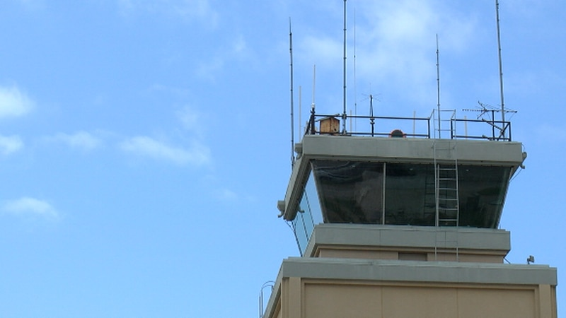 Tyler Pounds Regional Airport tower