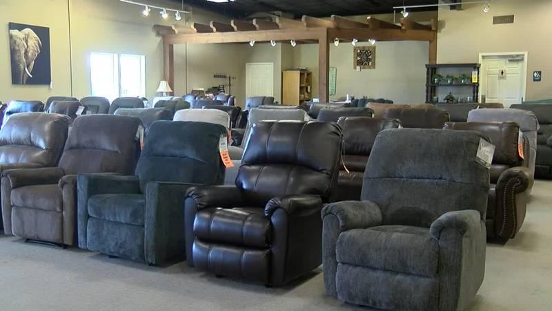 Southside Furniture is closed Friday to prep new stock.