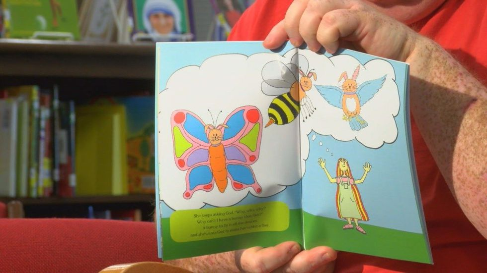 Ten percent of the profits from book sales will be donated to children's ministries in East...