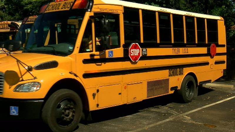 Tyler ISD school bus