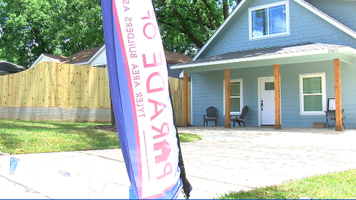 Habitat for Humanity Home featured in TABA Parade of Homes.