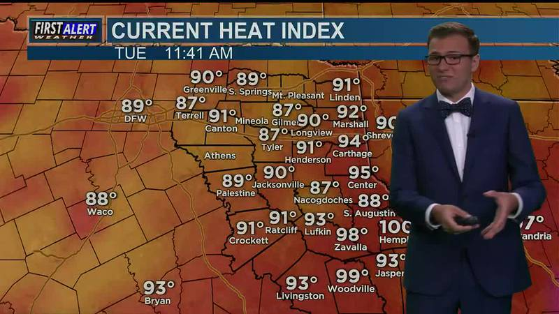 Tuesday Midday Weather At Your Fingertips 7-13-21
