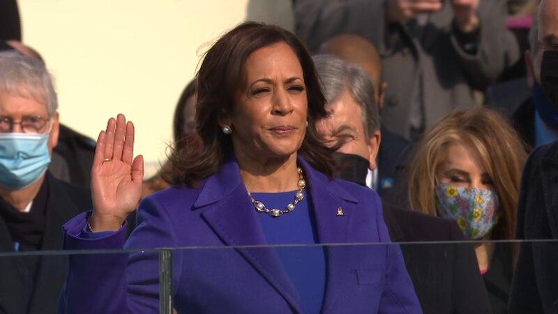 Kamala Harris sworn in as Vice President