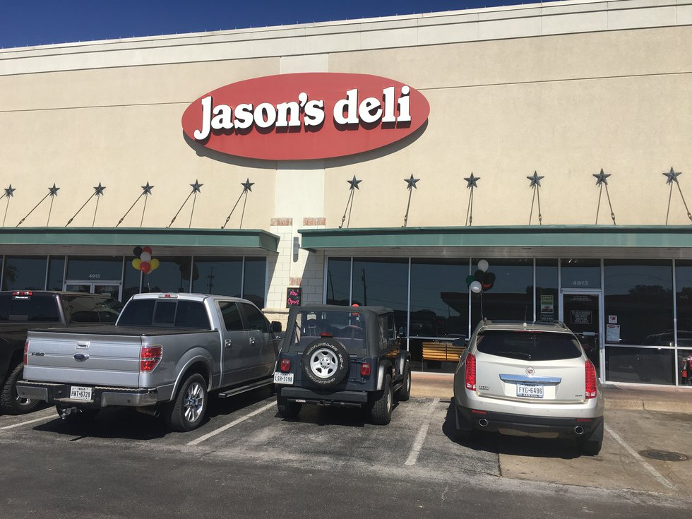 Several businesses, including Jason's Deli, have reopened their doors after repairs to their...