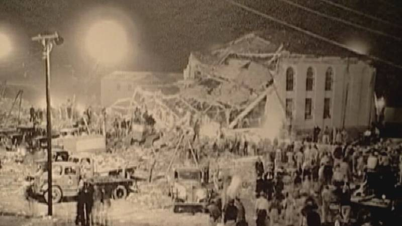 On March 18, 1937, nearly 300 people were killed in a blast sparked by a gas leak at New London...