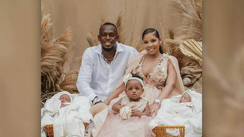Usain Bolt and partner Kasi Bennett announced the arrival of twins with a social media post on...