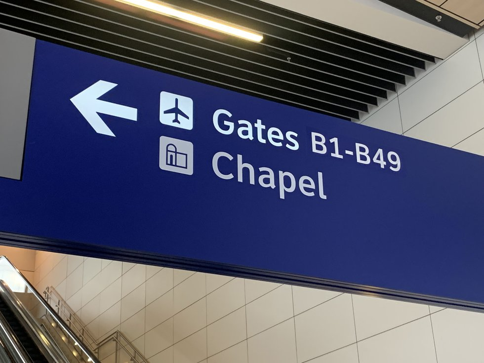 DFW International Airport is home to the world's largest interfaith chaplaincy, with five...