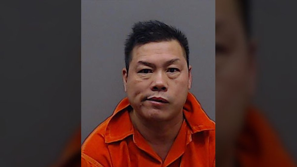 Joe Huang, 51, was arrested and charged with possession of marijuana greater than 50...