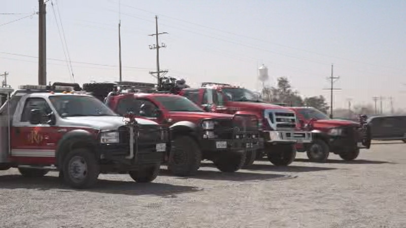 A strike team, complete with six additional engines from around the Dallas area, has been sent...