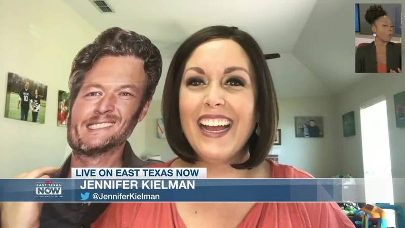 Jennifer Kielman admits her personal obsession with Blake Shelton and how she got creative with...
