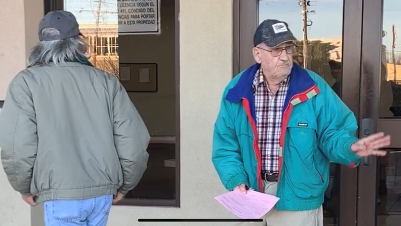 John Stevens (right) appeared in court on Dec. 11. Stevens was the driver of the Athens ISD bus...