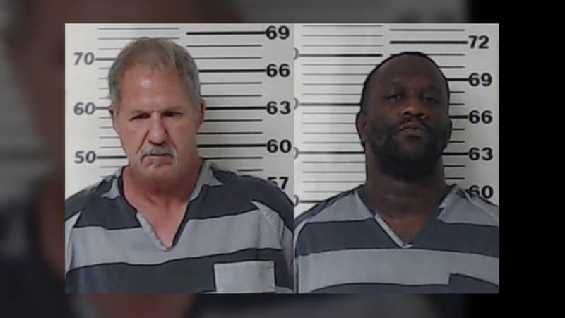 John Edward Bernard (left) and Kevin Jay Todd, Jr. (right) were arrested on drug charges.