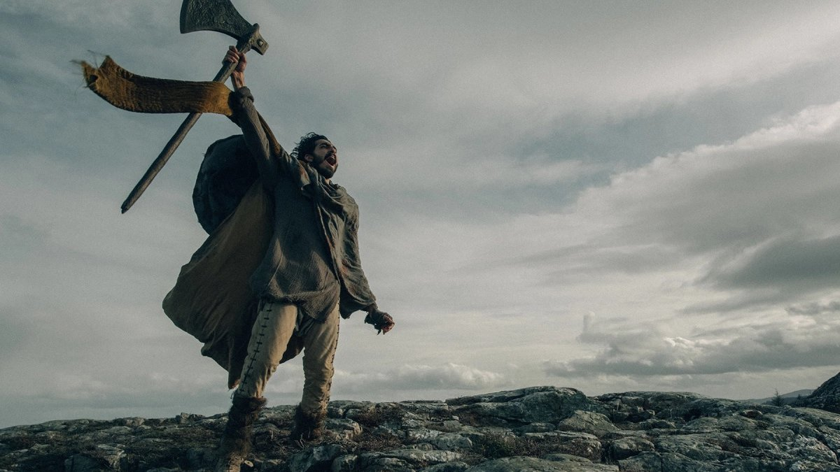 Dev Patel as Sir Gawain in The Green Knight.