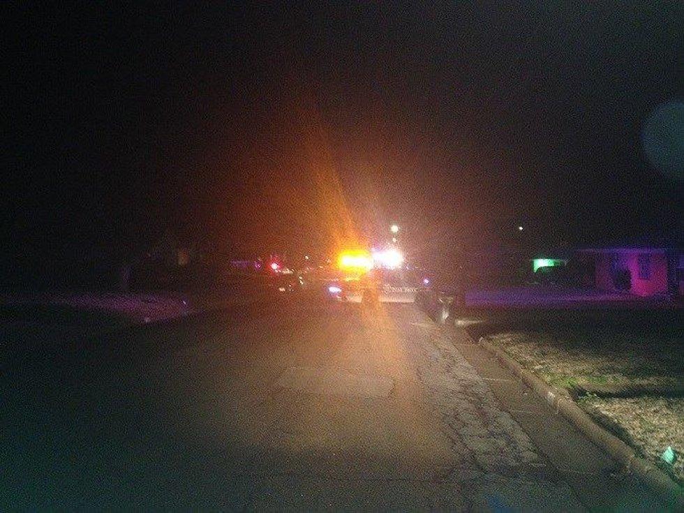 Scene of fatal shooting in Tyler.