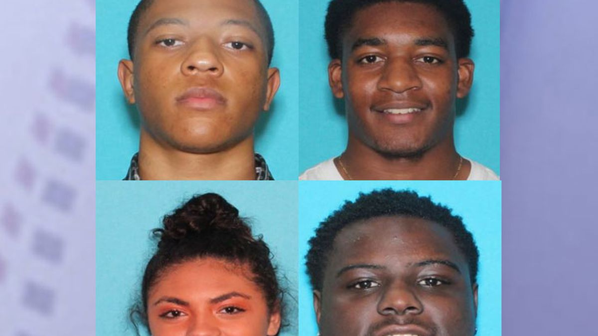 Pictured are (top row from left) Brandon Brandford and Lacourtney Johnson and (bottom row from...