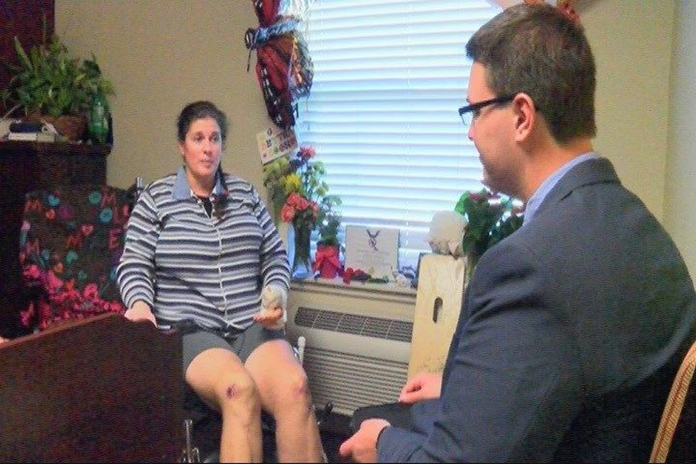 Kristin Blaise speaks exclusively with KLTV 7's Alex Osiadacz about her recovery.