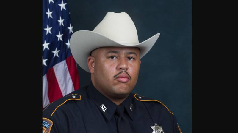 Harris County Sheriff's Deputy Shaun Waters, 42, died Sunday after contracting COVID-19.
