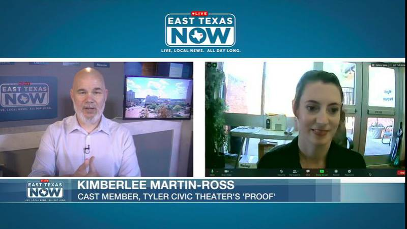 ETN Host Jeremy Butler speaks with Kimberlee Martin-Ross, a cast member in the Tyler Civic...