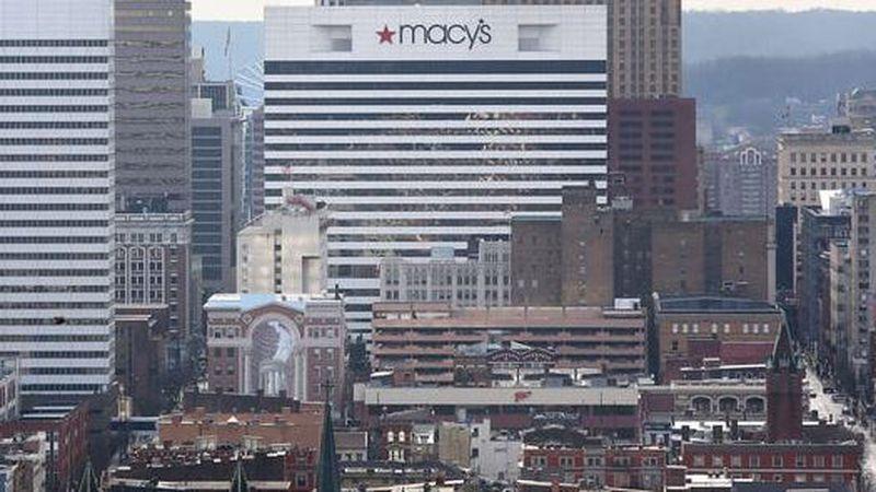 Macy's headquarters in downtown Cincinnati.