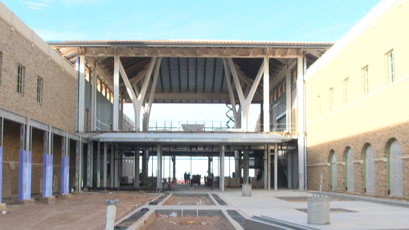 Faculty say this school has been in the works for 50 years and is finally coming to life this...
