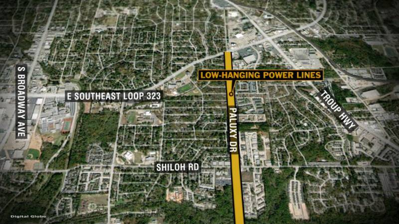Wreck involving vehicle that struck power pole and lines has Paluxy Drive shut down south of S....