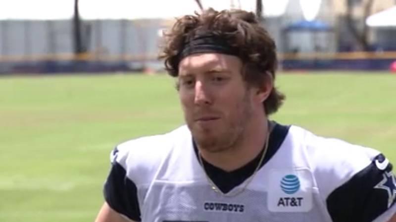 Pictured is Dallas Cowboy tight end Blake Jarwin. (Source: KLTV Staff)