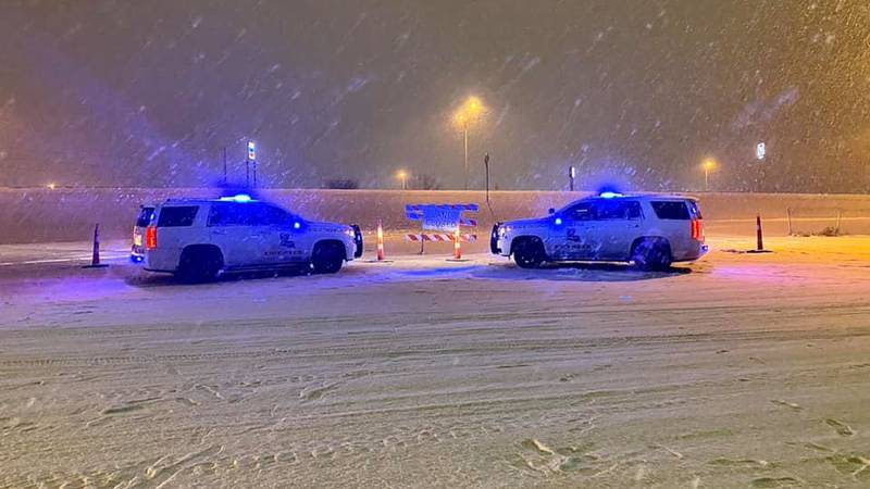 About 45 people were stranded on I-20 E between Bossier and Webster parishes Tuesday night...