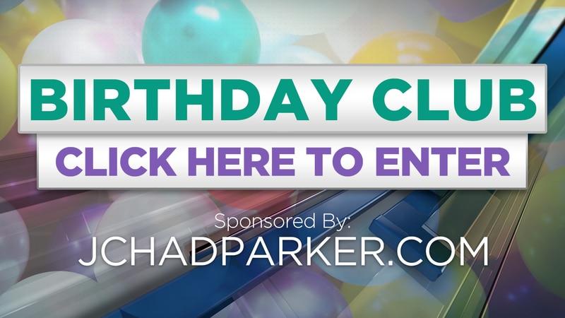 Enter our Birthday Club!