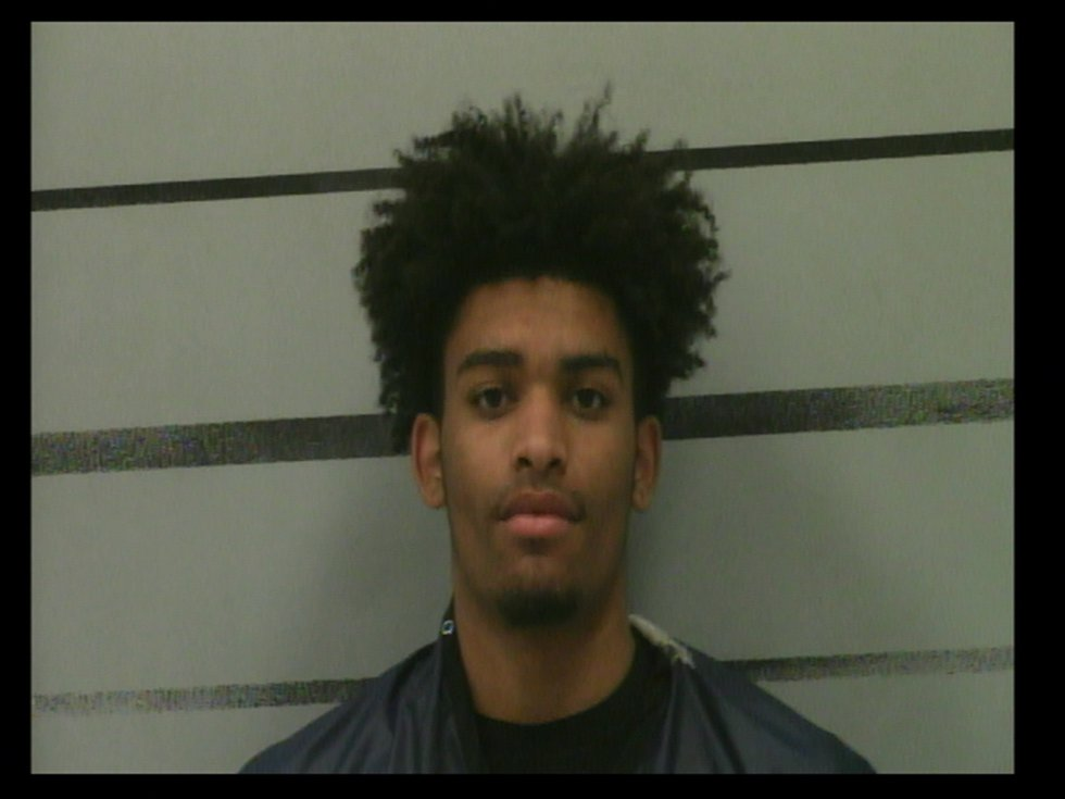 Tyrell Collins, 17, of Lubbock charged with burglary of a building in connection to a gun store...