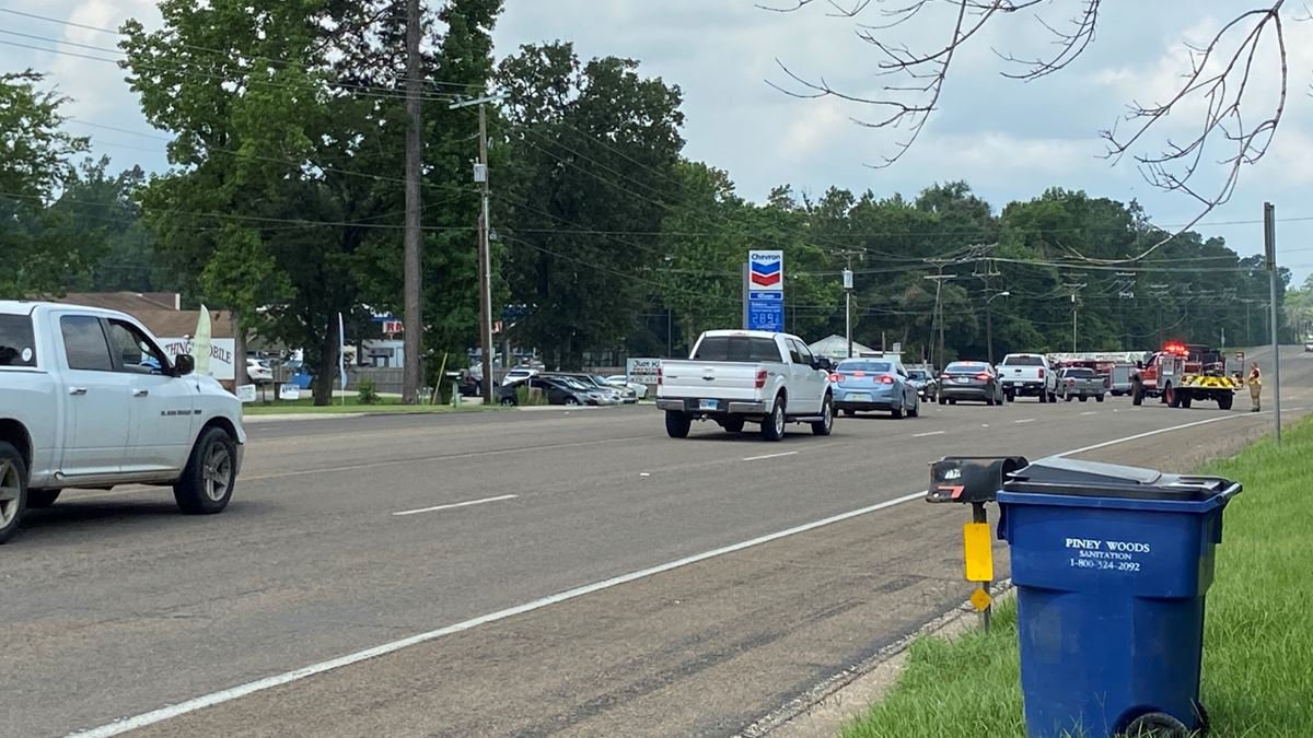 The Hudson Police Departmnt is detouring traffic away from the State Highway 94 and Mt. Carmal...
