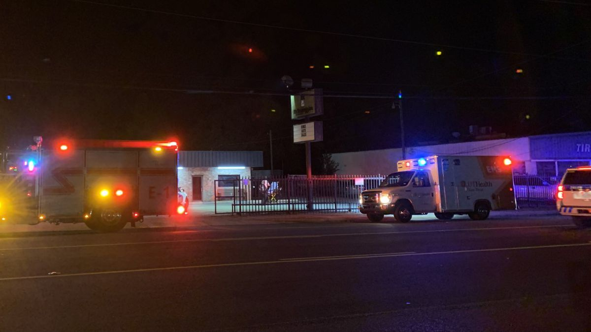 Police, fire, and EMS crews respond to report of an aggravated assault shortly after midnight.