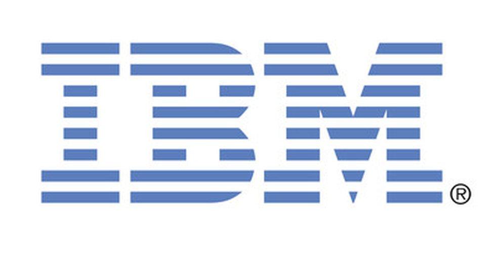 IBM company logo.  (PRNewsfoto / IBM)