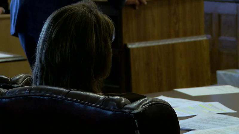 Kimberlyn Snider in court