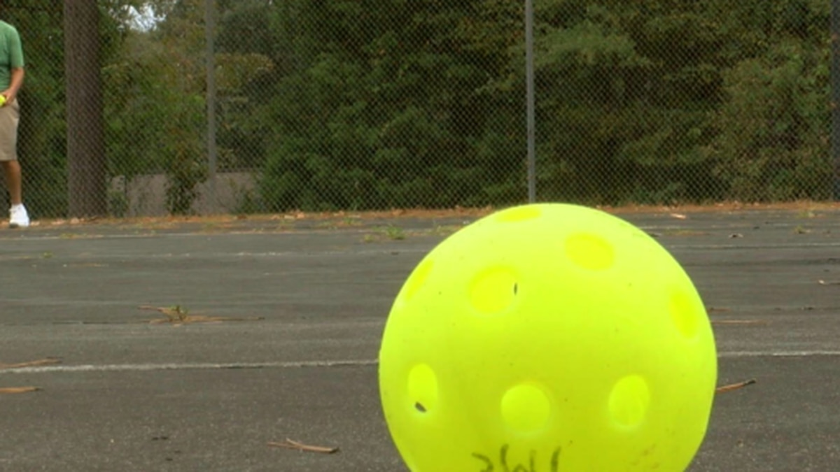 Pickleball is a growing game that is a downsized combination of tennis, badminton, and ping pong