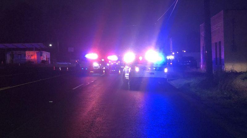 Police investigating fatal auto-pedestrian crash on West Erwin Street.