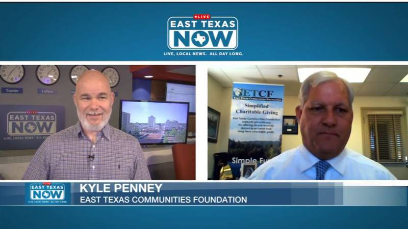 Kyle Penney with the East Texas Community Foundation spoke to ETN host Jeremy Butler about the...