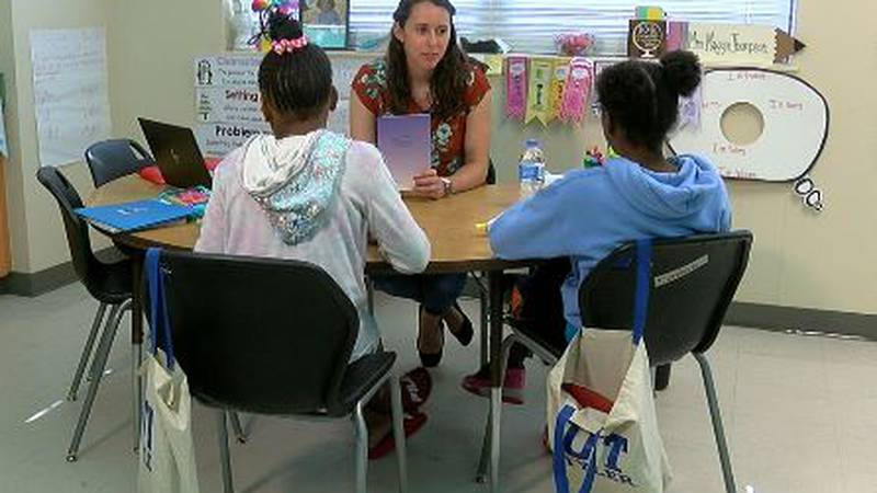 UT Tyler pre-service teachers spend June with Overton Elementary students at summer enrichment...