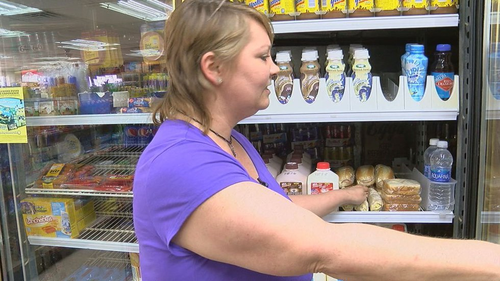 Sandwiches and water (Source: KLTV)