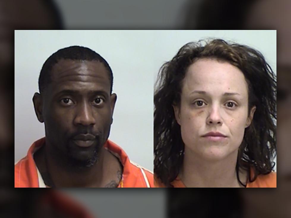 Carlton Grant, left, and Lindsey McFadden (Source: Upshur County Jail)