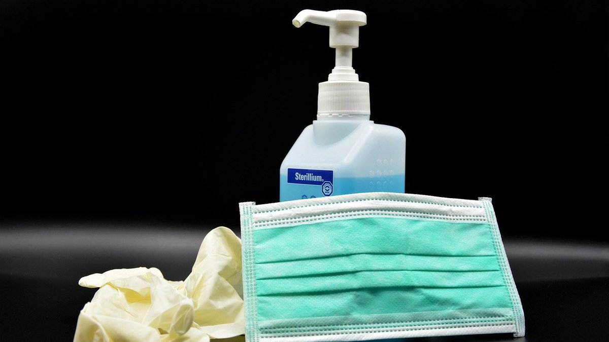 A woman is accused of spraying disinfectant in a man's face for not wearing a mask at a North...