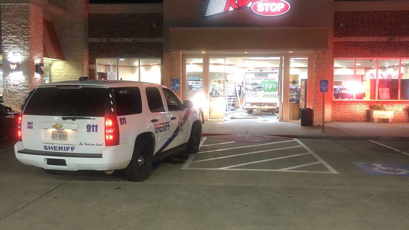 U-Haul crashes into ETX gas station convenience store
