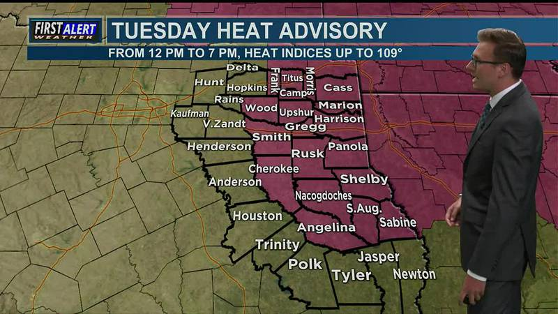 Tuesday Afternoon Weather At Your Fingertips 7-27-21